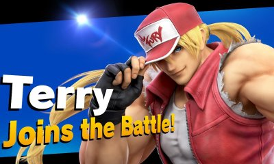 Terry Bogard Super Smash Bros. Ultimate Screenshot