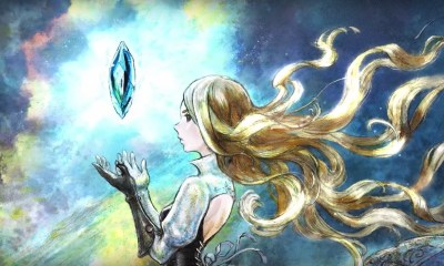 Bravely Default II Key Art