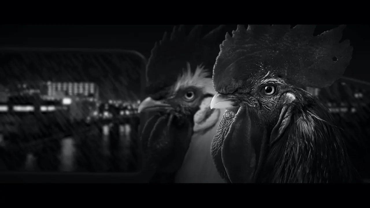 gran estética noir al jugar Chicken Police jugar