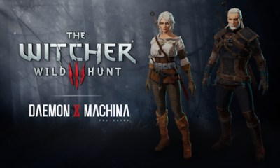 Daemon X Machina The Witcher 3 Collaboration Set Screenshot