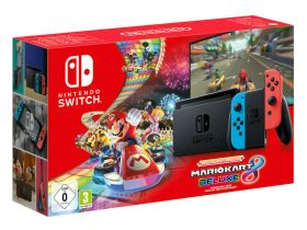 New Nintendo Switch Mario Kart 8 Deluxe Bundle Photo