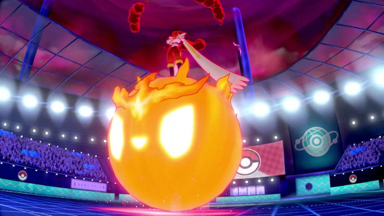 Gigantamax Cinderace Pokémon Sword And Shield Screenshot