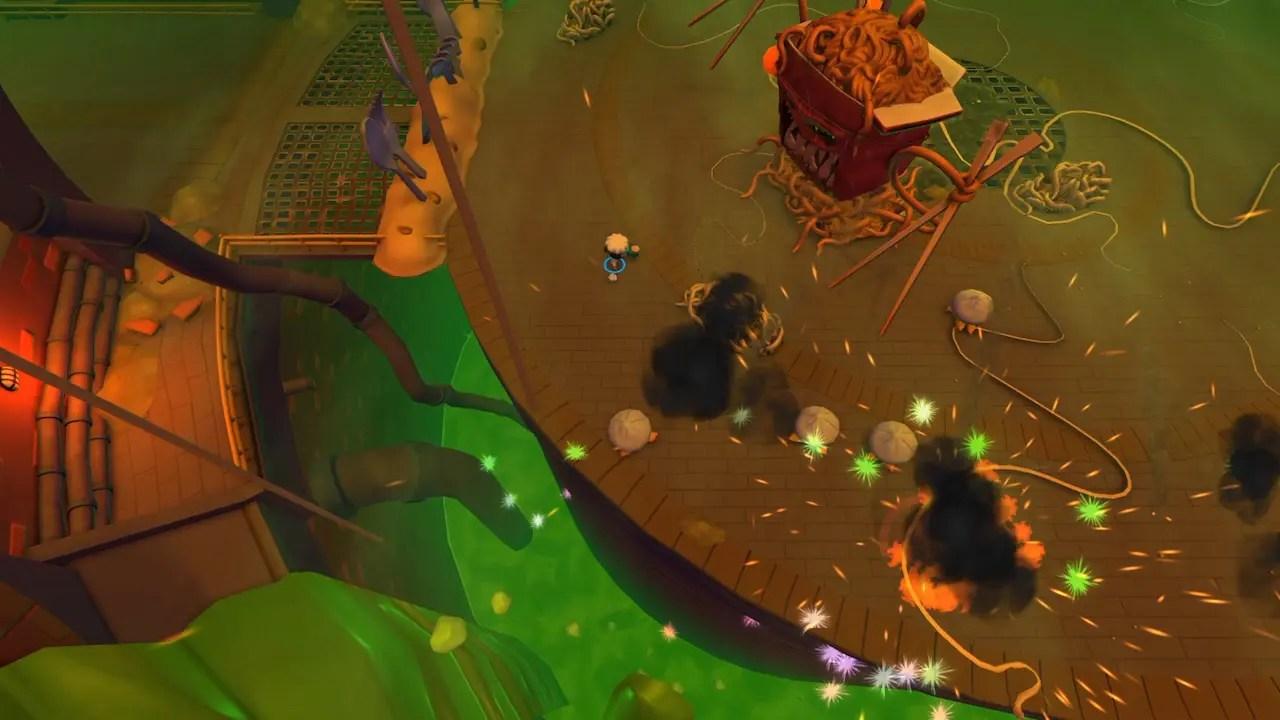 Nom Nom Apocalypse Screenshot