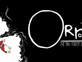 Orn: The Tiny Forest Sprite Logo