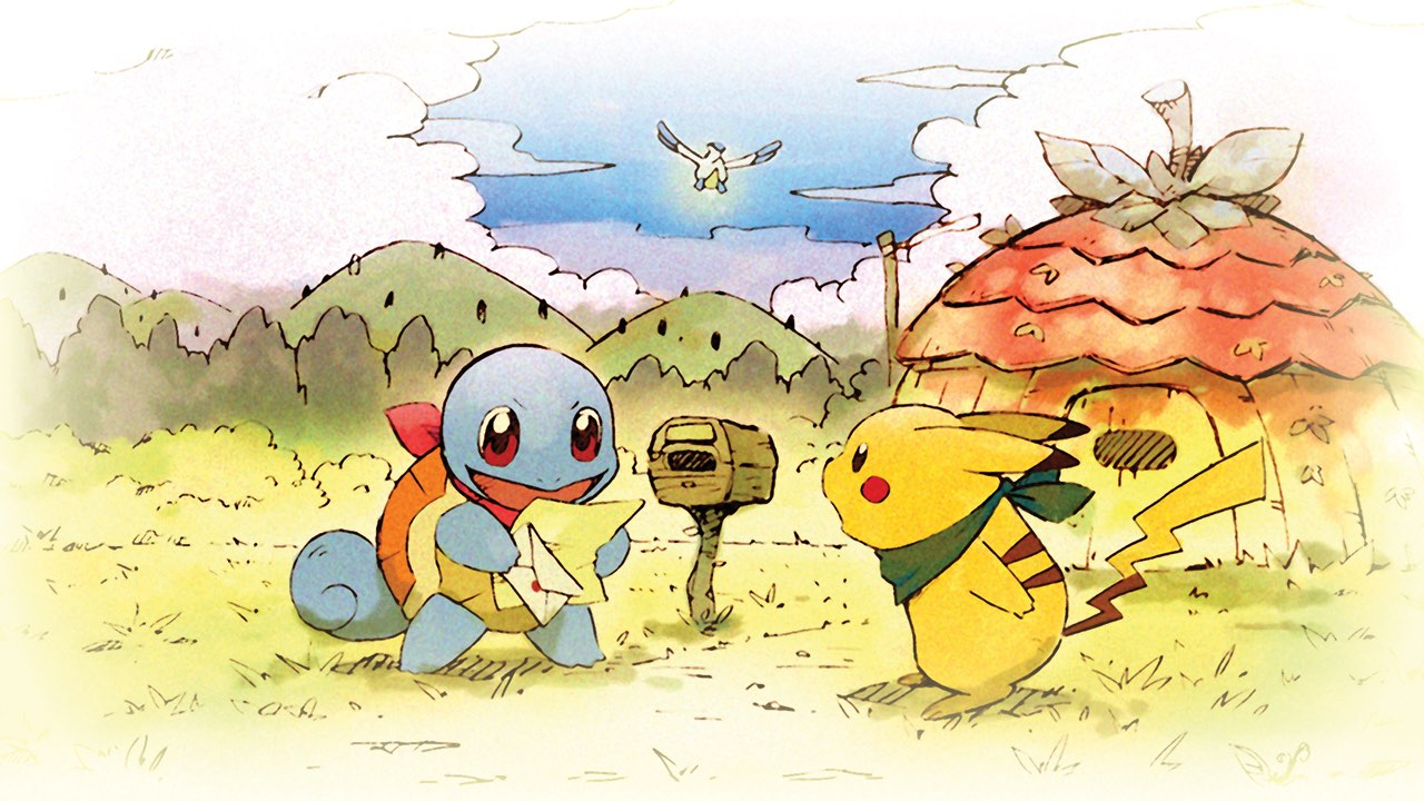 Pokémon Mystery Dungeon: Rescue Team DX Key Art