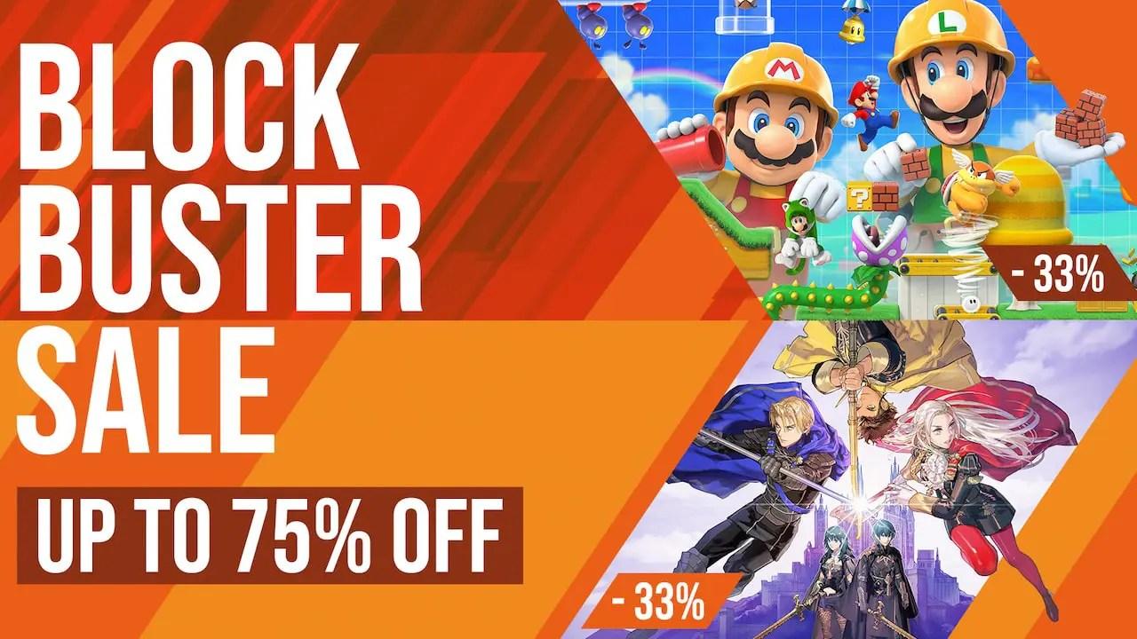 Nintendo Eshop Blockbuster Sale 2020 Discounts 113 Nintendo Switch Games Nintendo Insider