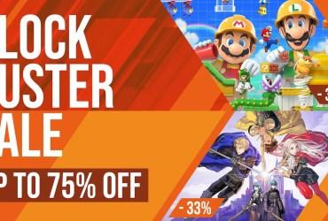 Nintendo eShop Blockbuster Sale Image