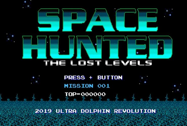 Space Hunted: The Lost Levels Logo