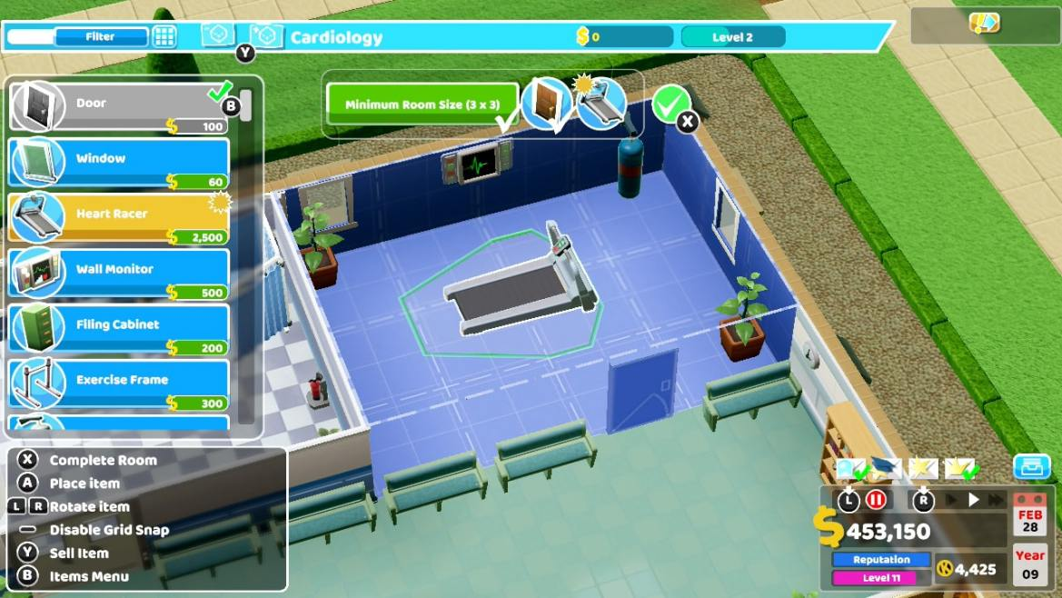 Two Point Hospital Review Screenshot 2