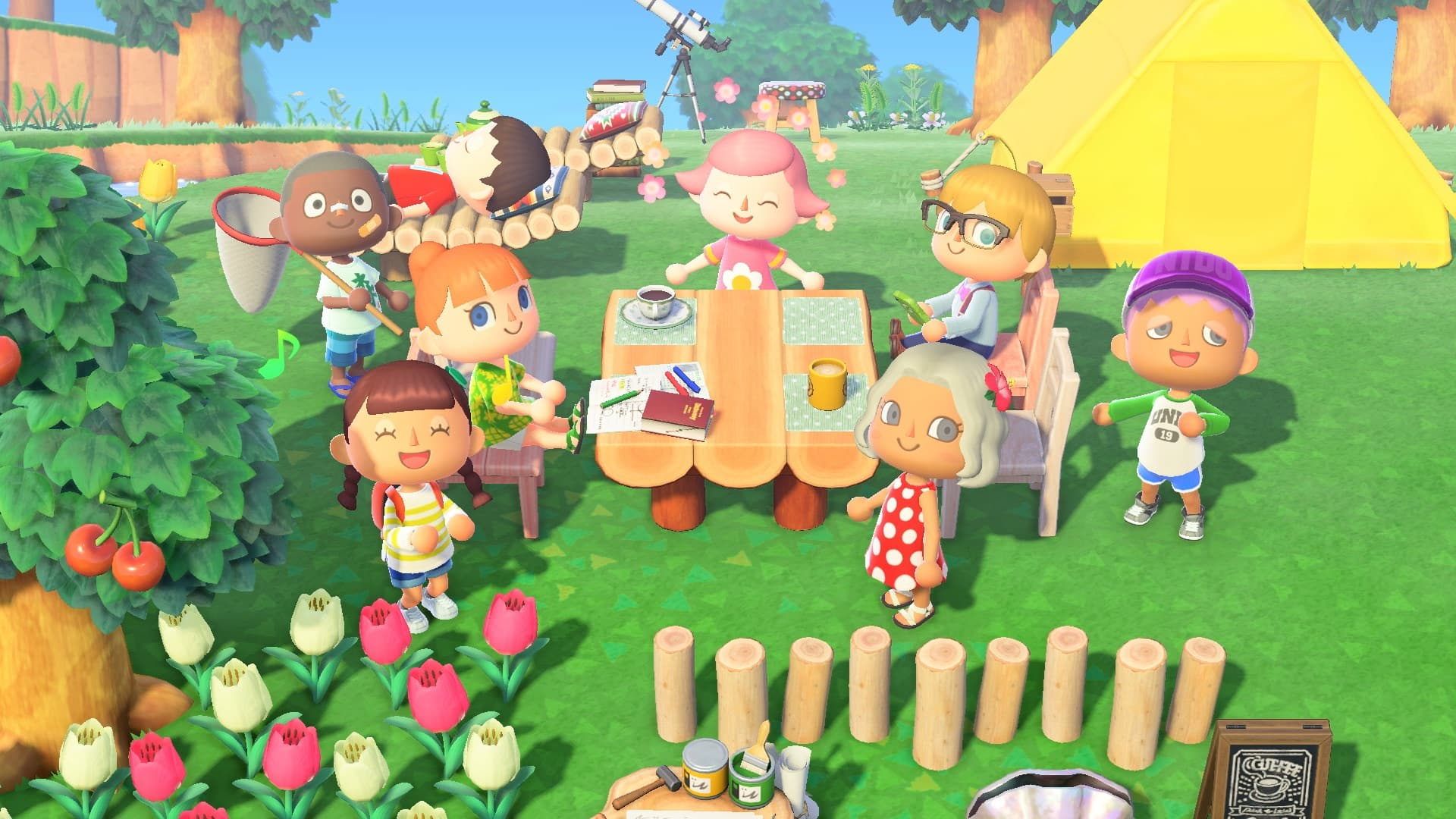 Animal Crossing: New Horizons Review Screenshot 1