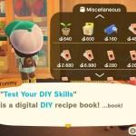Animal Crossing New Horizons Test Your DIY Skills Screenshot