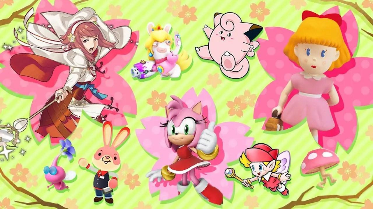 Super Smash Bros. Ultimate Tickled Pink Image