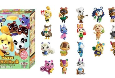 Animal Crossing Chocolate Egg Photo