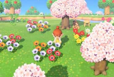 Animal Crossing New Horizons Flower Prices Screenshot