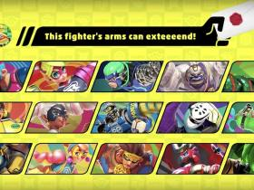 ARMS Fighter Super Smash Bros Ultimate Screenshot