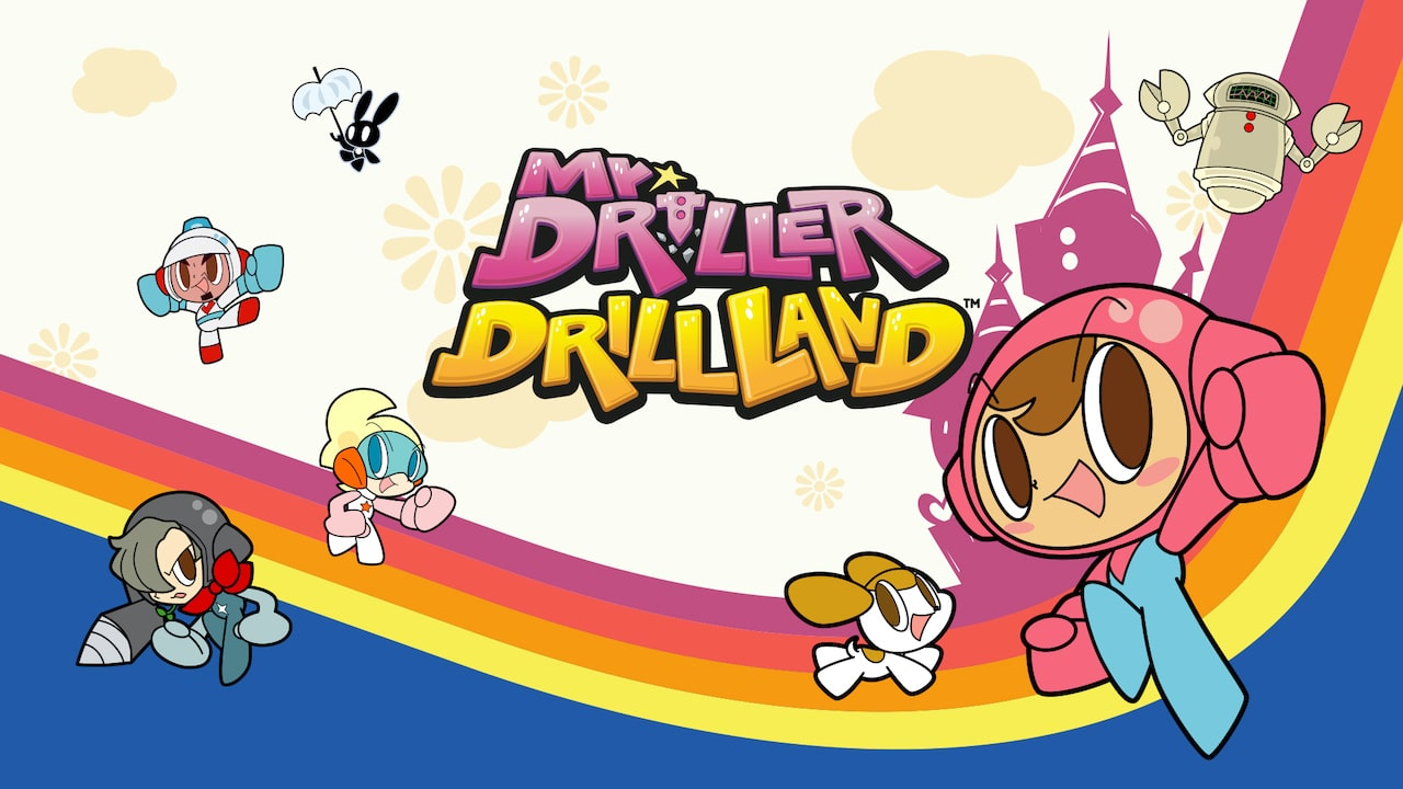 Mr. DRILLER DrillLand Logo