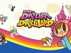 Mr. DRILLER DrillLand Logo