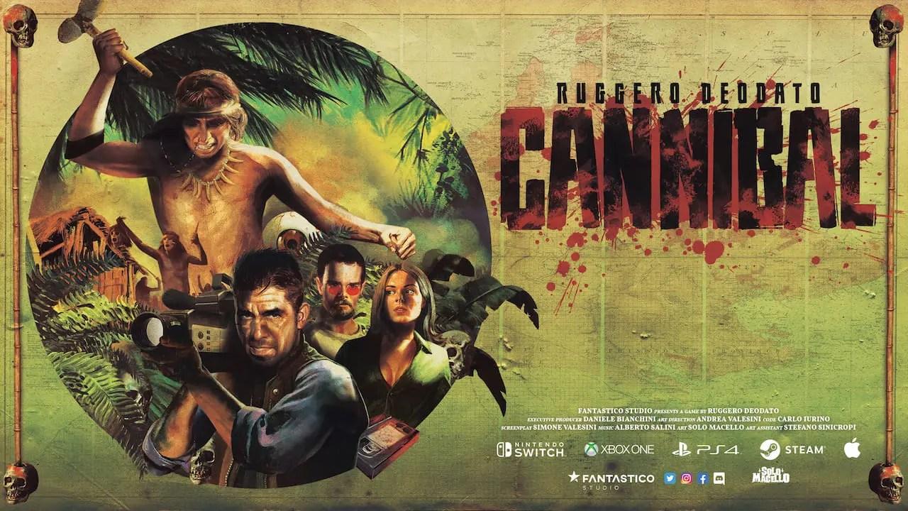 Ruggero Deodato's Cannibal Logo
