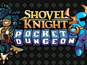 Shovel Knight Pocket Dungeon Logo