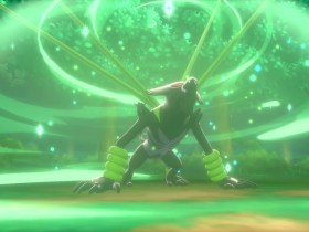 Zarude Jungle Healing Pokémon Sword And Shield Screenshot