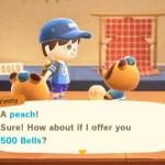 Animal Crossing New Horizons Fruit Prices Screenshot