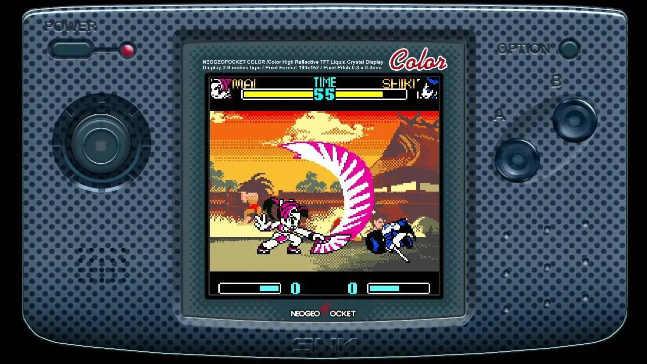 SNK Gals' Fighters Review Screenshot 2