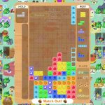 Tetris 99 Animal Crossing: New Horizons Theme Screenshot
