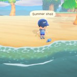 Animal Crossing New Horizons Summer Shell Screenshot
