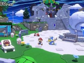 Kamek Paper Mario: The Origami King Screenshot