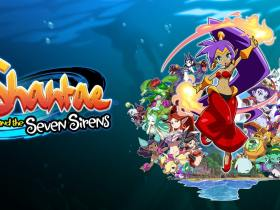 Shantae and the Seven Sirens Logo