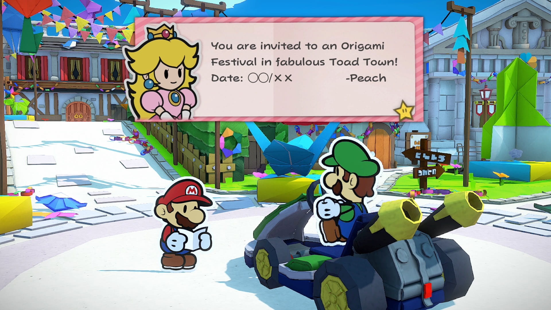 Paper Mario: The Origami King Review Screenshot 1