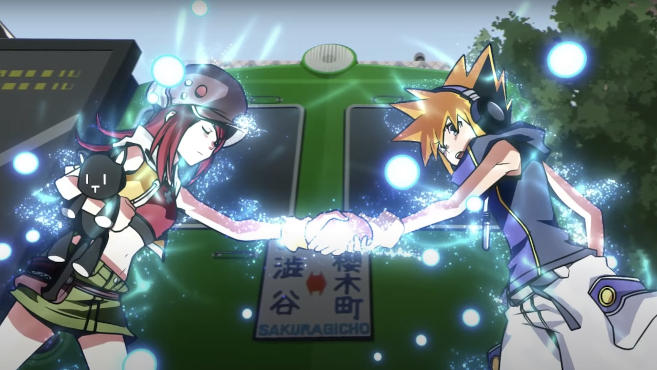 The World Ends With You: The Animation Screenshot