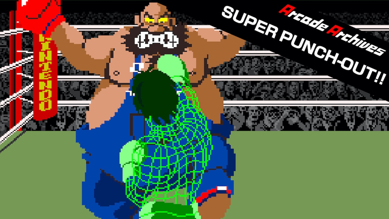 Arcade Archives Super Punch-Out Logo