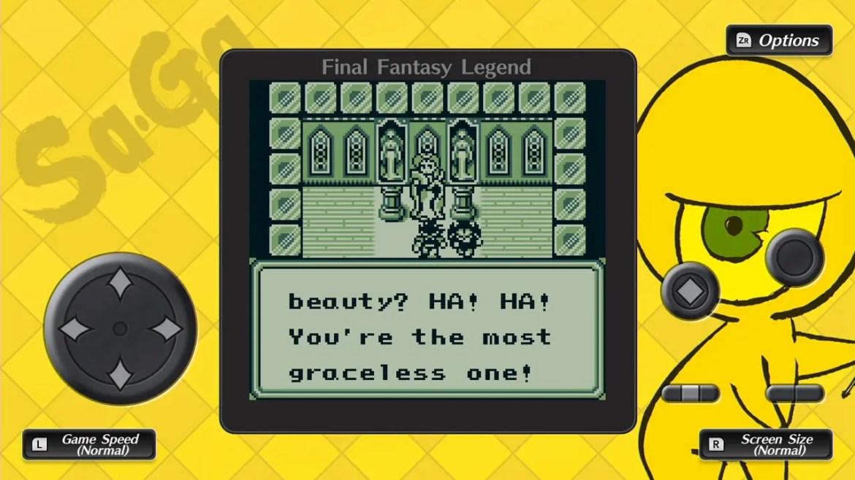 Collection Of SaGa Final Fantasy Legend Screenshot 5