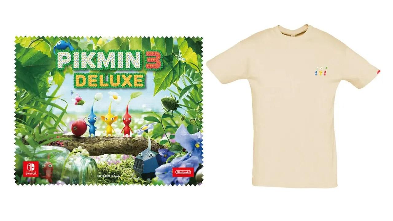 Pikmin 3 Deluxe Pre-Order Bonuses Photo