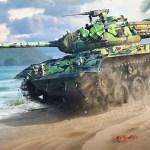 World Of Tanks Blitz Key Art