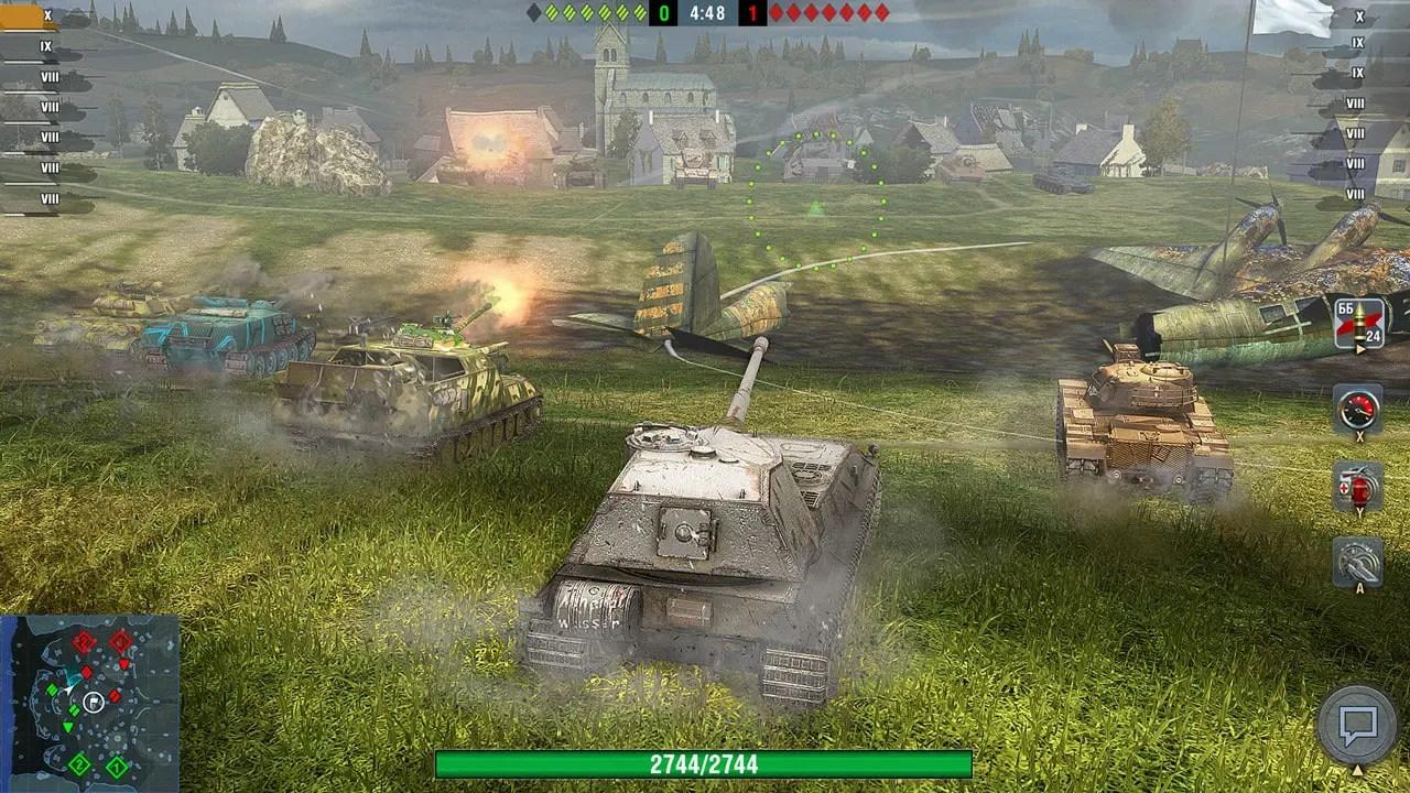 World Of Tanks Blitz Screenshot 5