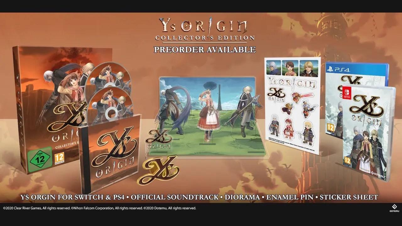 Ys Origin Collector's Edition Photo