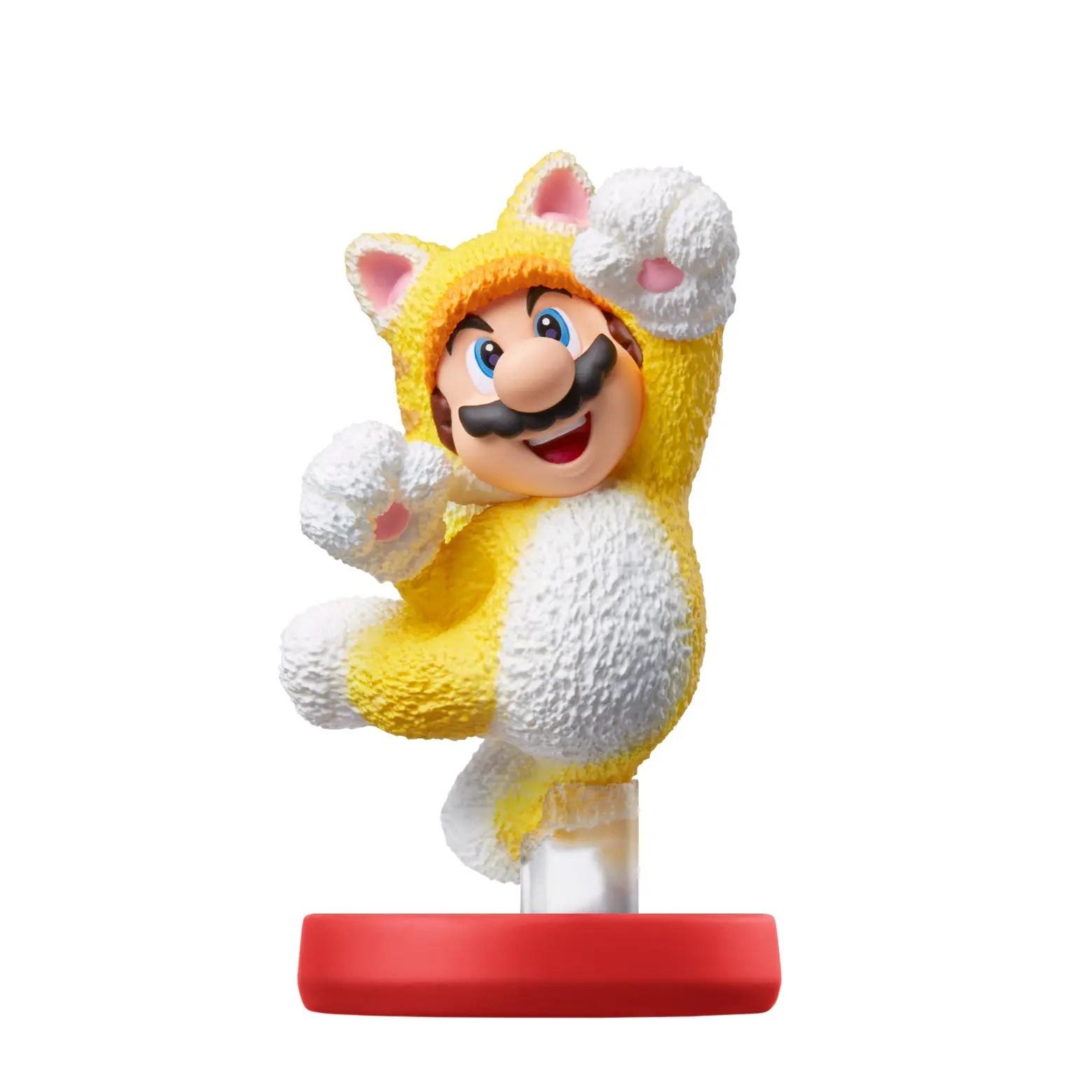 Cat Mario amiibo Photo