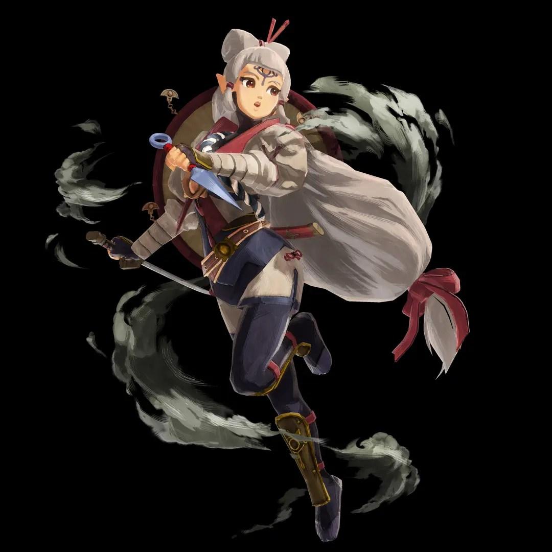 Hyrule Warriors: Age Of Calamity Impa Key Art