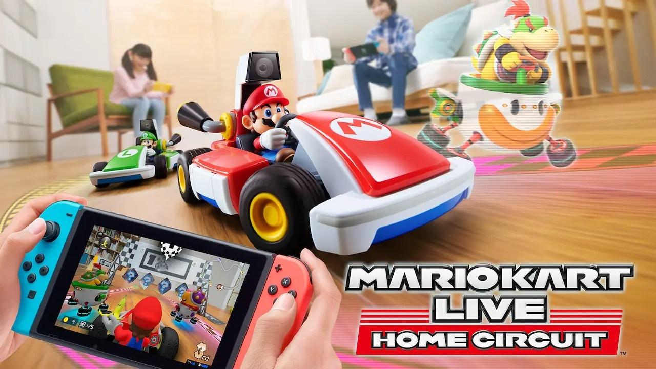 Mario Kart Live: Home Circuit Logo