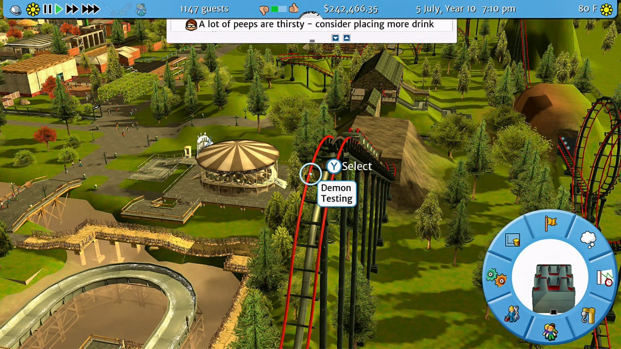 RollerCoaster Tycoon 3: Complete Edition Preview Screenshot 2