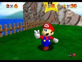 Super Mario 64 Tiny-Huge Island Screenshot 1