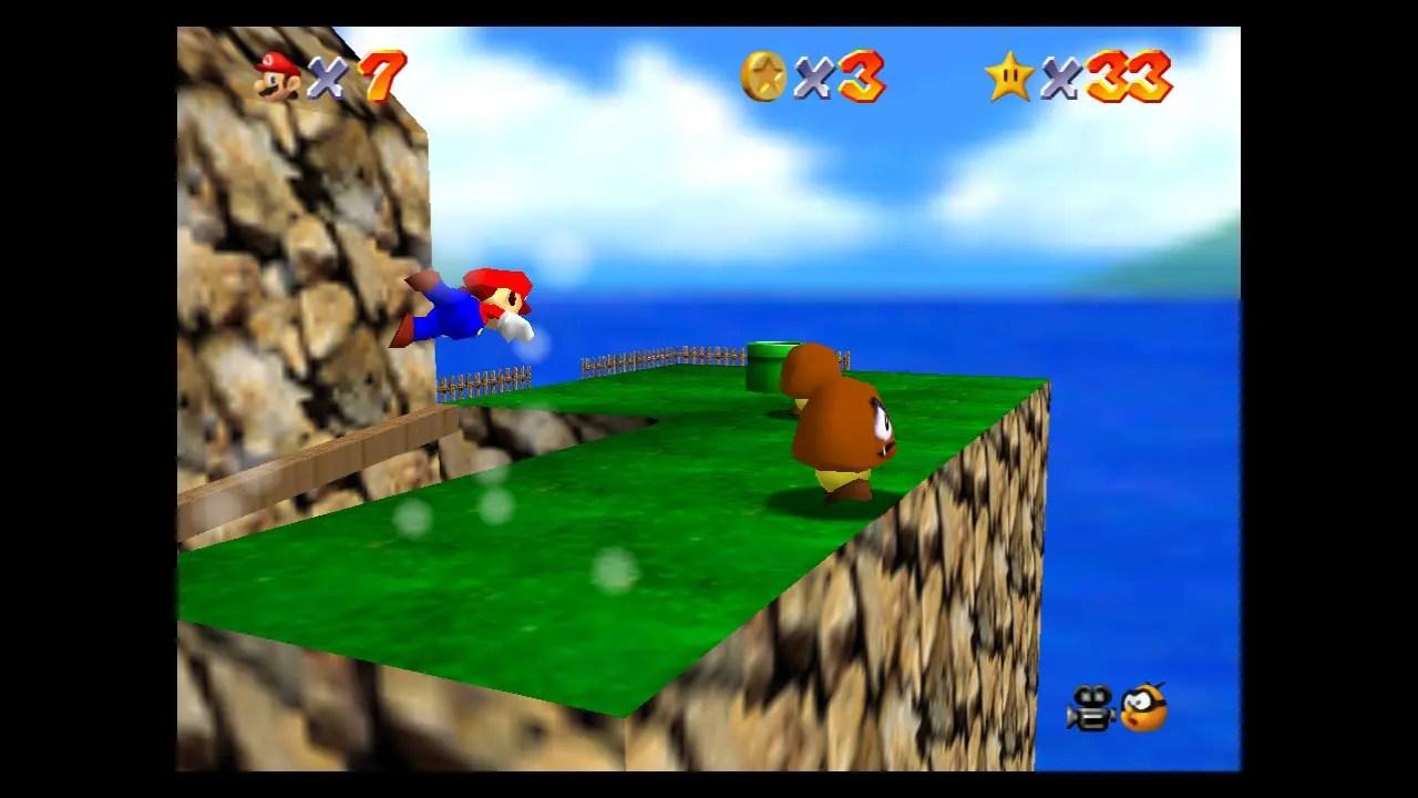 Super Mario 64 Tiny-Huge Island Screenshot 2