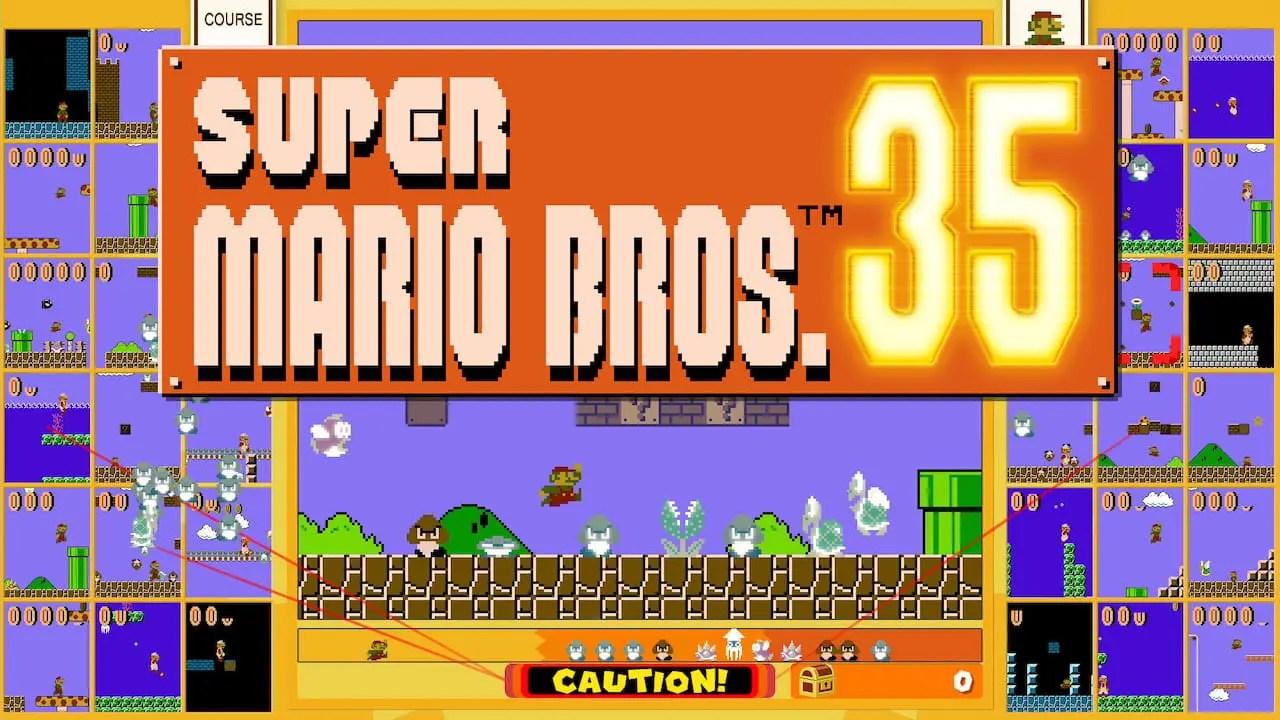 Super Mario Bros. 35 Logo