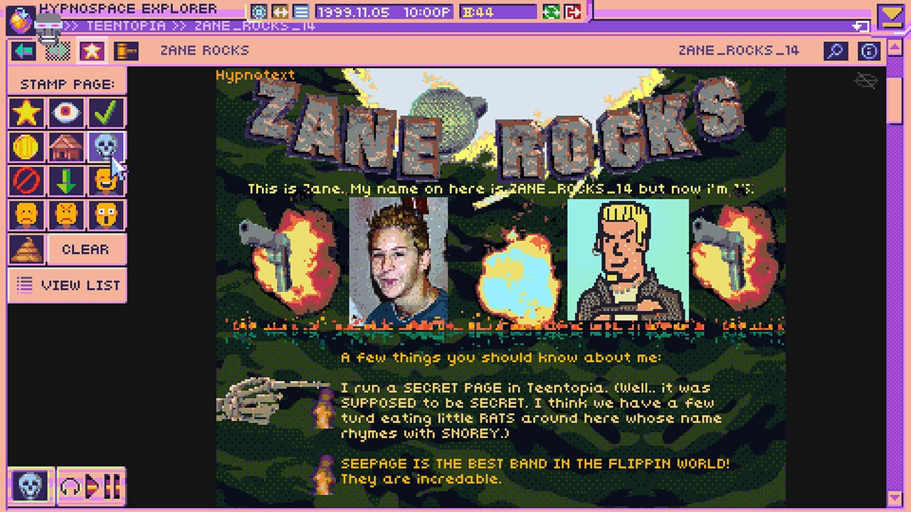 Hypnospace Outlaw Review Screenshot 1
