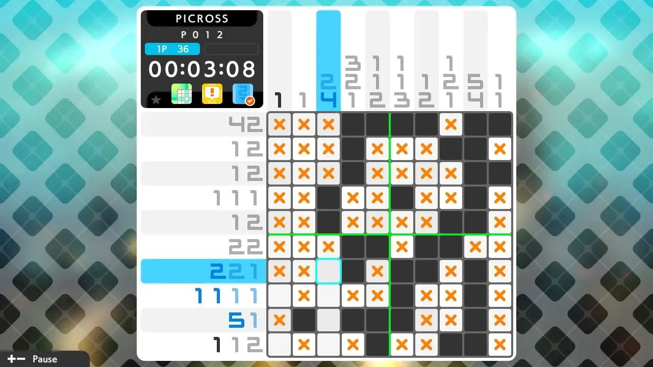 Picross S5 Review Screenshot 1