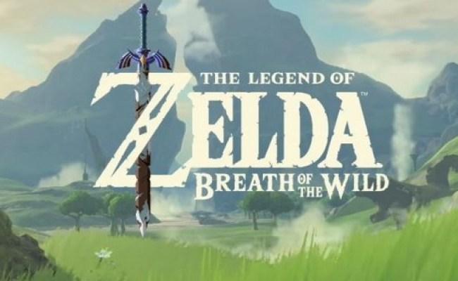 Rumor Gamestop Suggests Zelda Breath Of The Wild Could