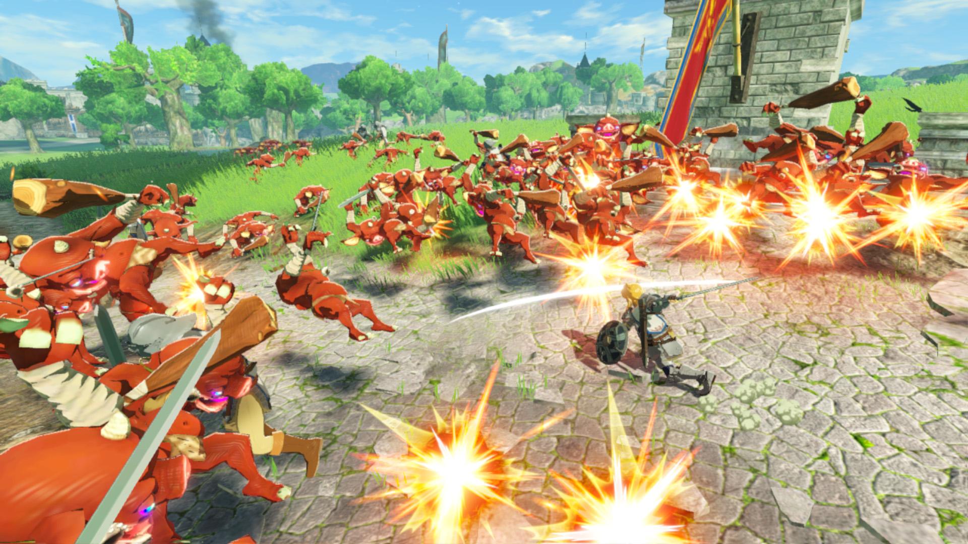 Hyrule Warriors : L'Ère du Fléau (Nintendo Switch) - Le test -  Nintendo-Town.fr