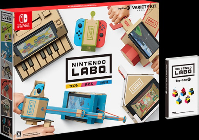 Image result for Nintendo Labo Toy-Con 01: Variety Kit